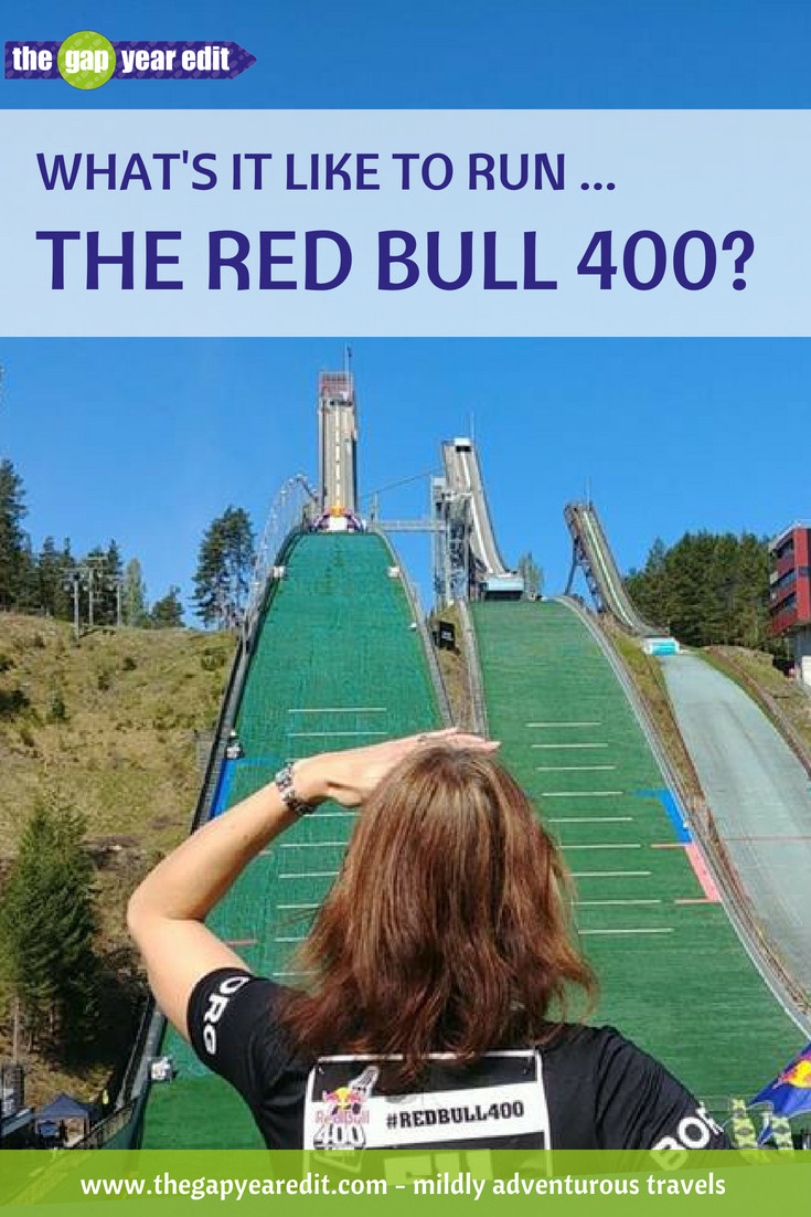 """OMG we've GOT to do this!"" I enthused, shoving the screen of my phone in Andrew's direction. I'd just shown him the Red Bull 400, which involves running up (yes UP) a ski jump. Fast forward several months to Lahti, Finland, and here's how we got on ..."