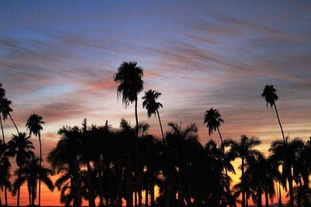sunset at El Fuerte, Mexico