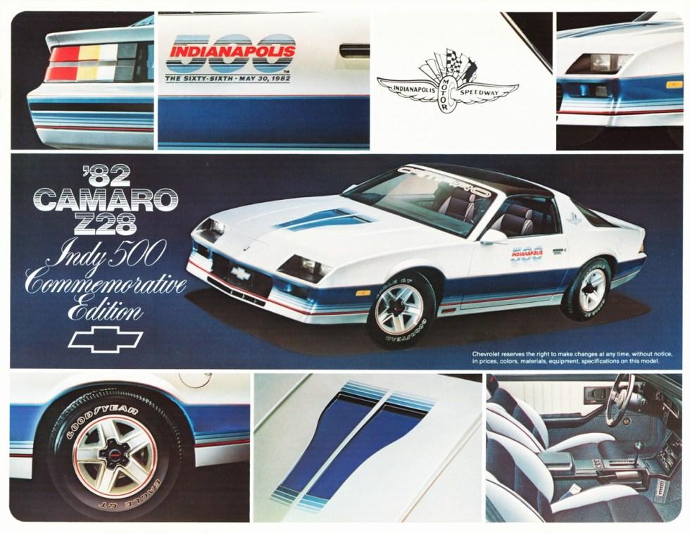 1982 Camaro Z28 Pace Car