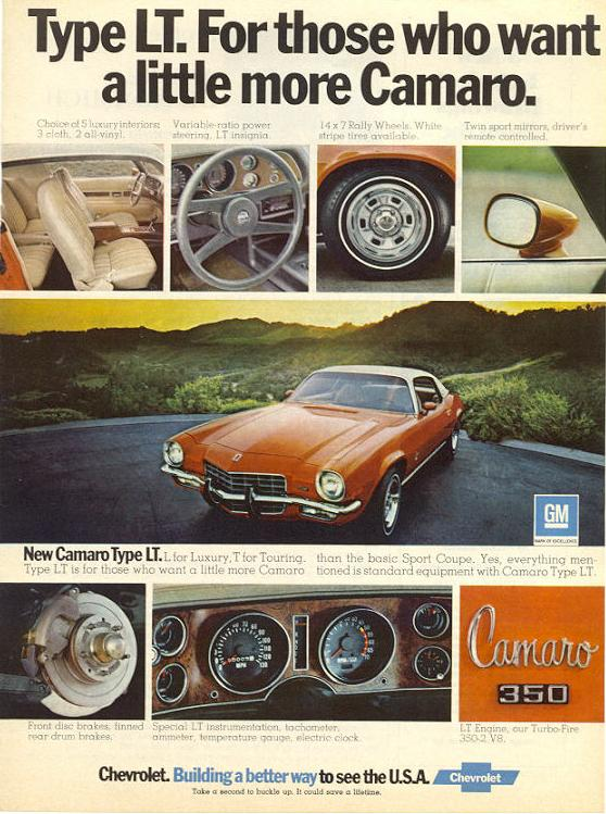 1973 Camaro LT