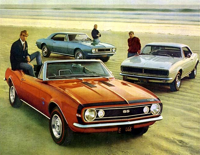 Propaganda Camaro 1967