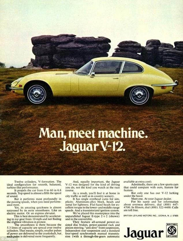 Jaguar E-type V12 article-
