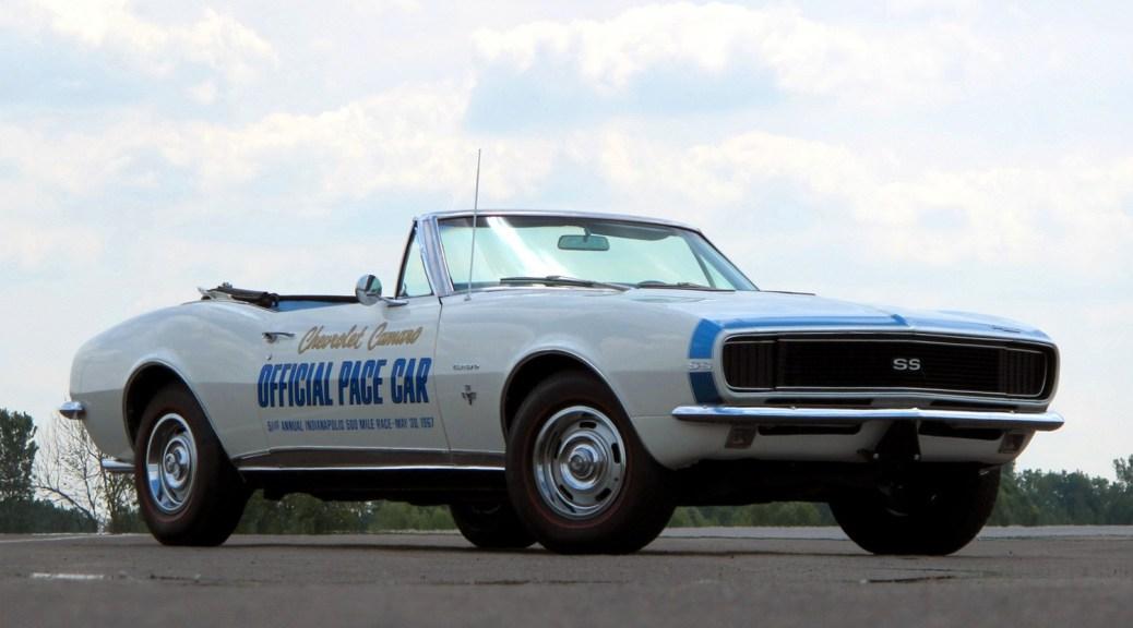 1967 Camaro Pace Car