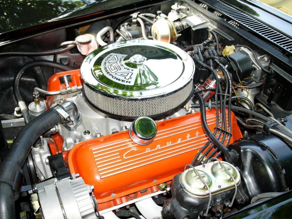 1972 Chevrolet Corvette Stingray 454 matching number