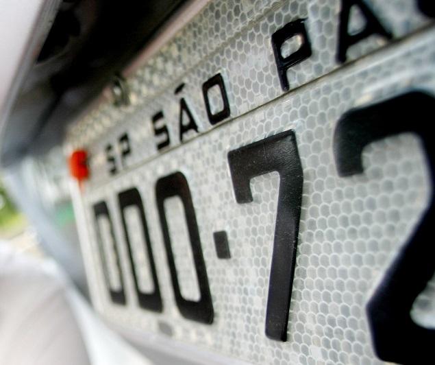 Placa de Carro