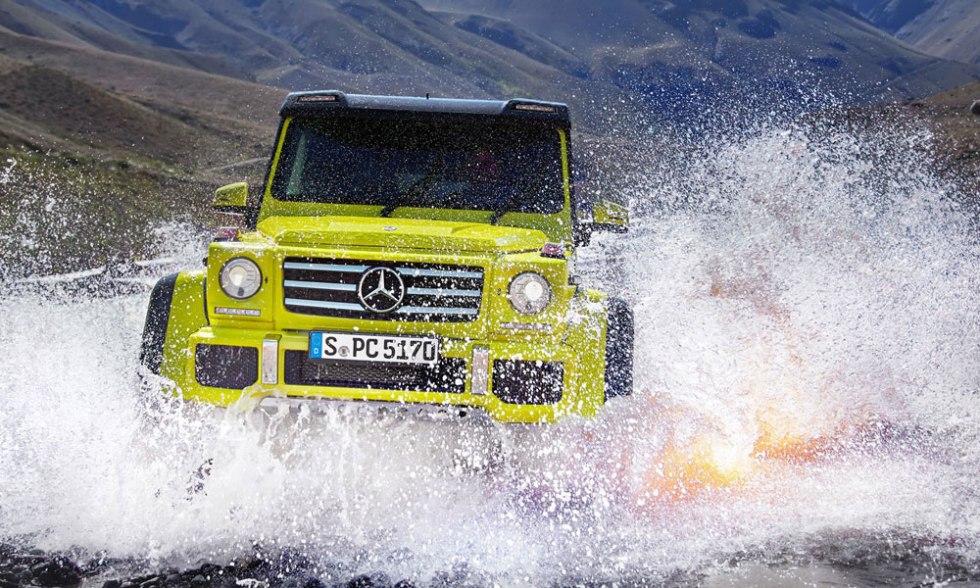 Mercedes Benz G550 4x4