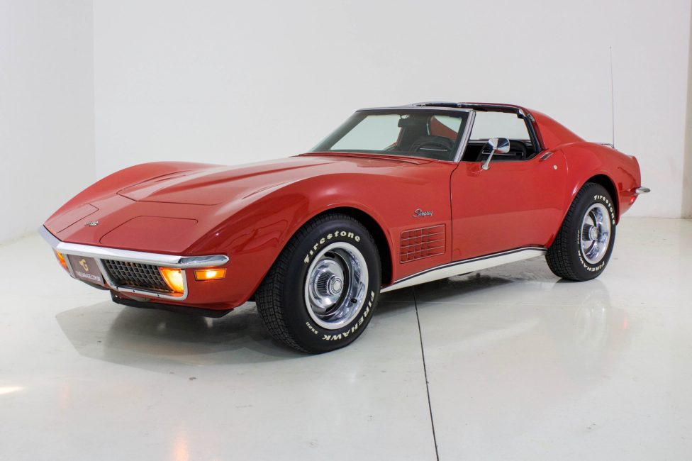1972 Corvette Stingray Targa traseira