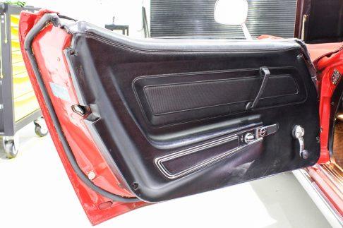 1972 Corvette Stingray Targa interior