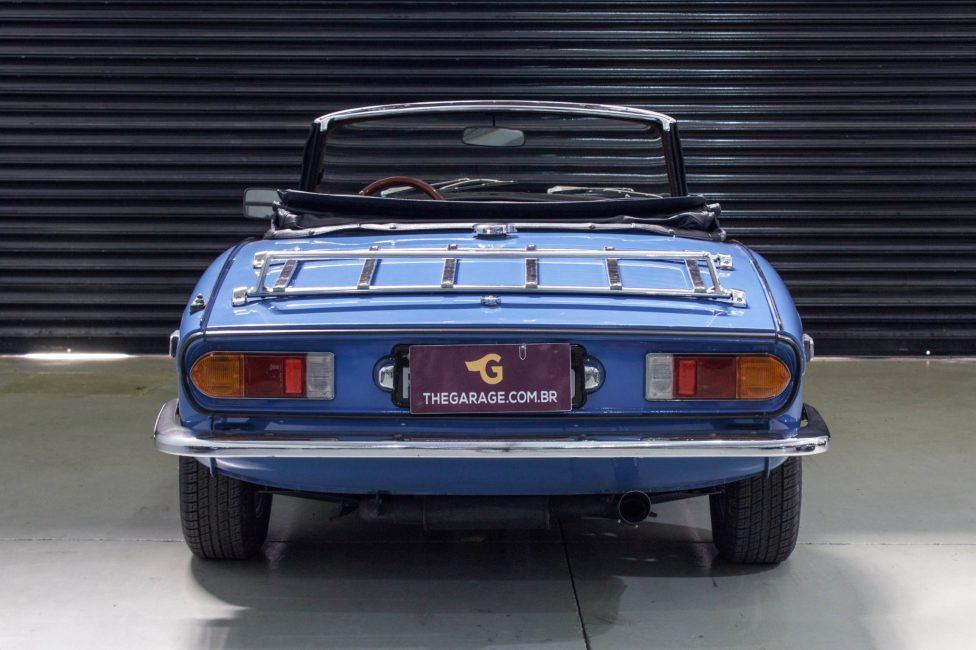 1978 Triumph Spitfire 1500 conversível azul