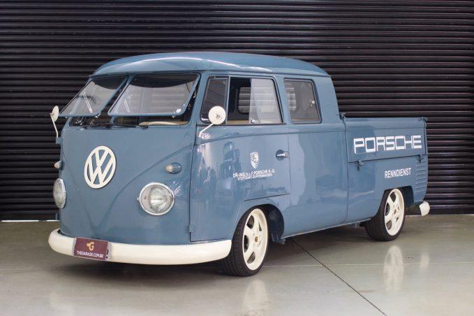 1962 VW Kombi Alemã Cabine dupla
