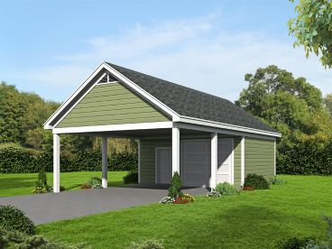Plan 062G 0115 Garage Plans And Garage Blue Prints From