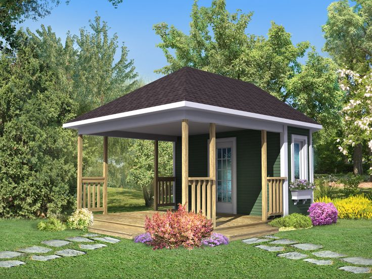 Garden Shed Porch Plans