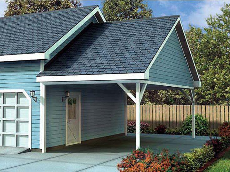 Carport Addition Plans 1 Car Carport Addition Plan 047g 0023