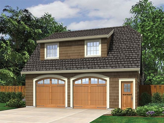 Garage Apartment Plans Craftsman Style 2 Car