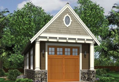 Garage Plans With A Workshop Or Loft House Plans And More