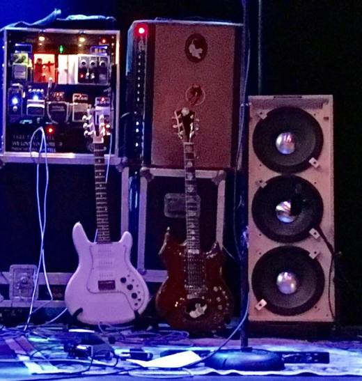 Jerry Garcia guitars speakers and gear Mik Bondy Tiger Guitar