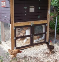 Chicken Doors & Sliding Chicken Coop Door Design 11 Coop Door