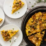 Wild Mushroom and Potato Frittata