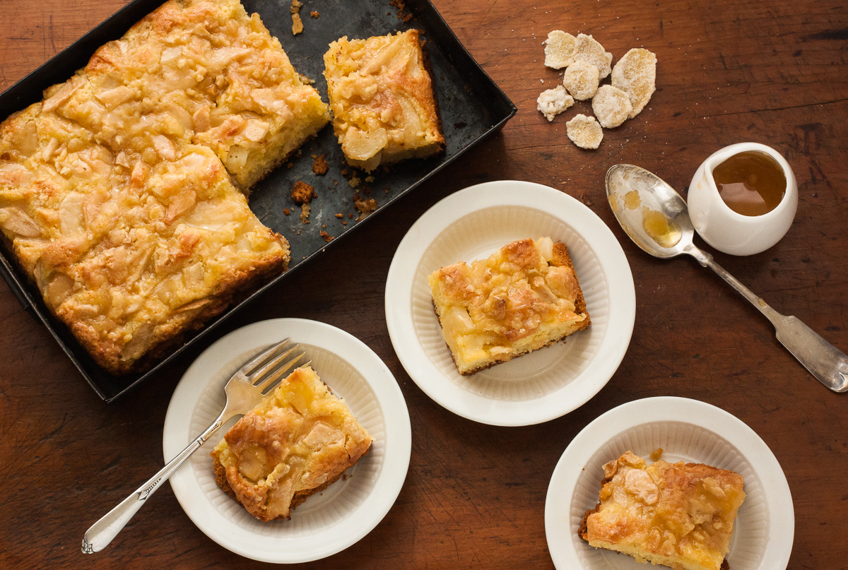Recipe For Apple Harvest Cake From The Plum Cookbook