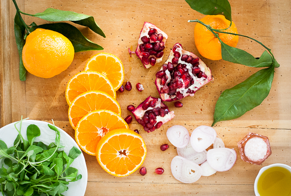 Satsuma Orange and Pomegranate Salad