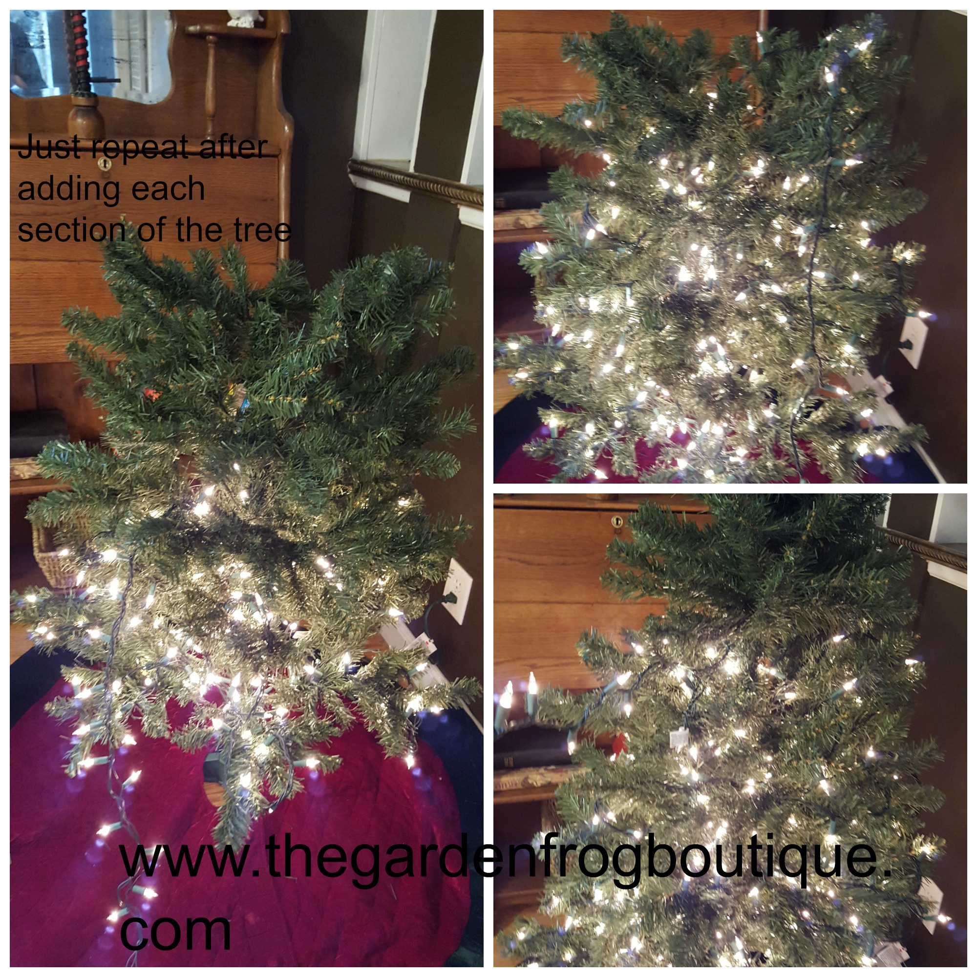 How To Put Lights On A Christmas Tree.How To Put Lights On An Artificial Christmas Tree The