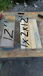 materials for bench