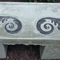 Create your own concrete bench for under $20
