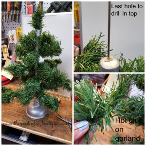 Create a Tabletop Tree
