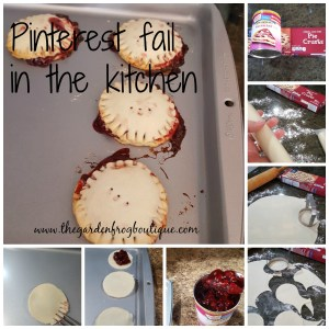Pinterest fail in the kitchen #1, mini pies