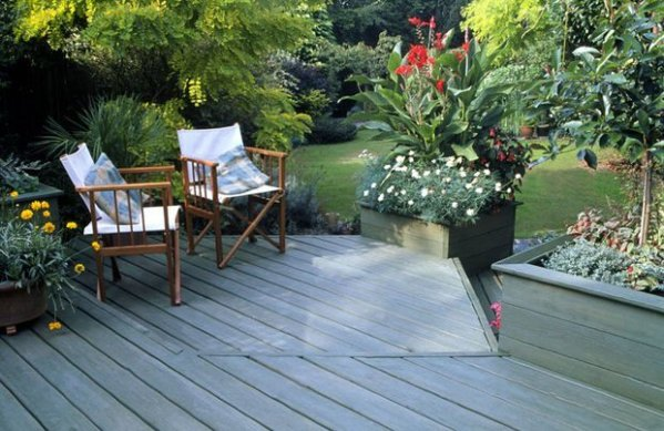 landscape patios and small