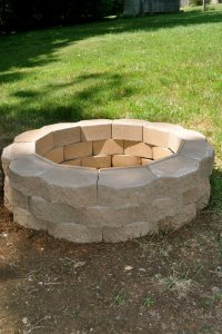 How to Build a Back Yard DIY Fire Pit (It's Easy!)