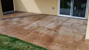 DIY Project: How To Stain A Concrete Patio The Garden Glove
