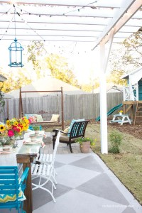 DIY Concrete Patio Cover-Ups   The Garden Glove