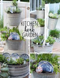 Creative Outdoor Herb Gardens | The Garden Glove