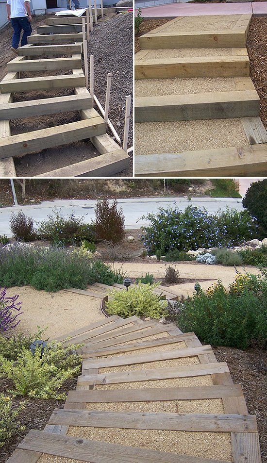 Step By Step! DIY Garden Steps And Stairs – The Garden Glove