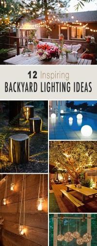 12 Inspiring Backyard Lighting Ideas | The Garden Glove