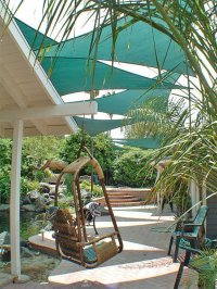 9 Clever DIY Ways for a Shady Backyard Oasis | The Garden ...