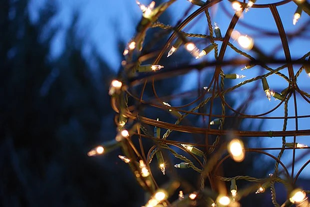 Lights Christmas Globes