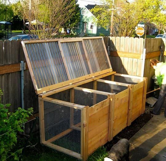 Compost Bin Design Ideas