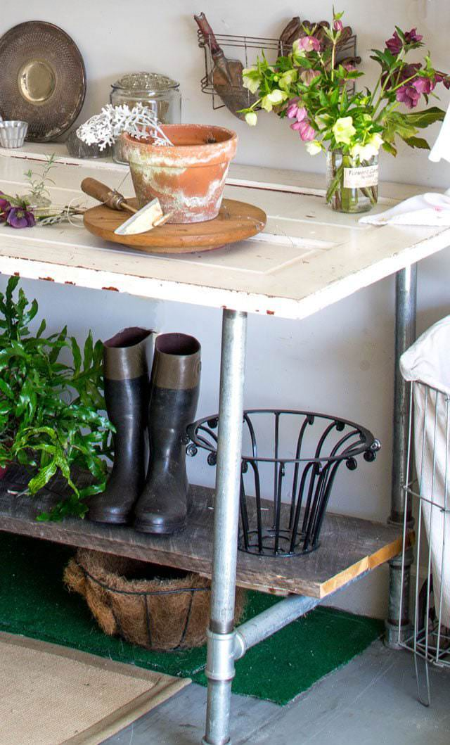 18 DIY Potting Benches Youll Want to Show Off  The