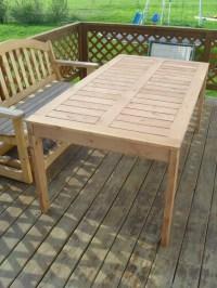 Build A Small Patio Table | Brokeasshome.com
