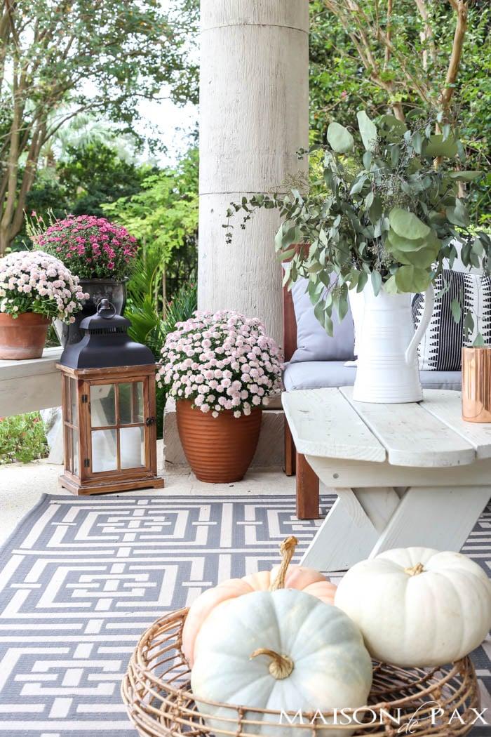 Fall Porch Decor  Outdoor Decorating Ideas  The Garden Glove
