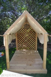 How to Build a Backyard Playhouse | The Garden Glove