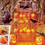 Front Porch Outdoor Halloween Decorating Ideas The Garden Glove