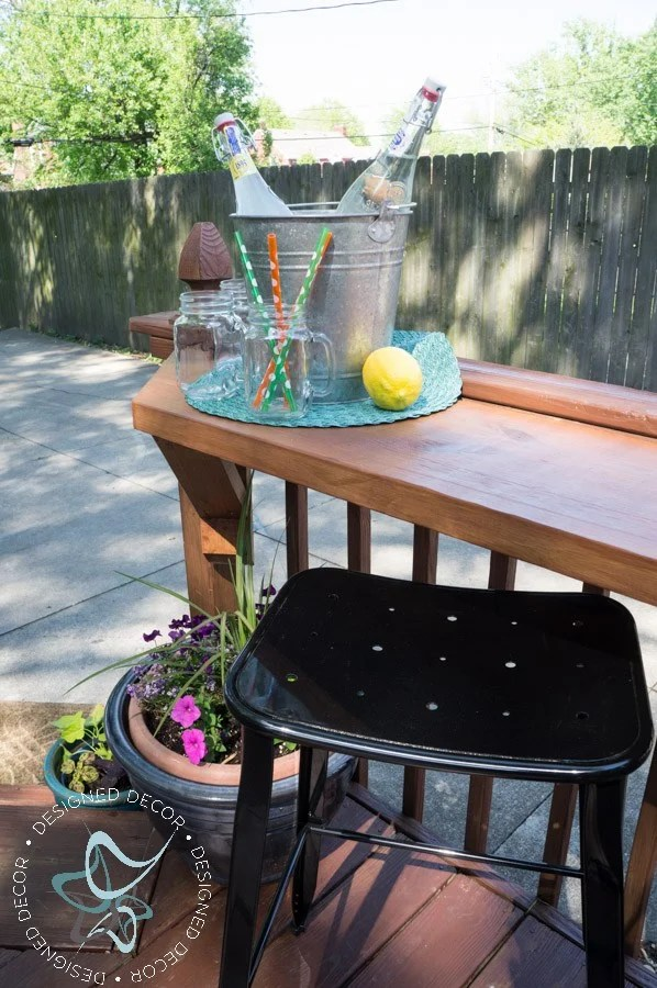 relax have a cocktail with these diy outdoor bar ideas the garden glove