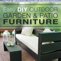 Diy Patio Chairs Upholstered Desk Easy Outdoor Garden Furniture The Glove