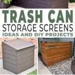 Trashy Looking Garbage Cans Storage Ideas Screen Projects The Garden Glove