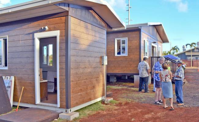 Tiny Houses Could Bring Big Relief The Garden Island