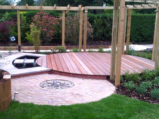 Garden Decking Ideas Timber Buildings Structures Garden