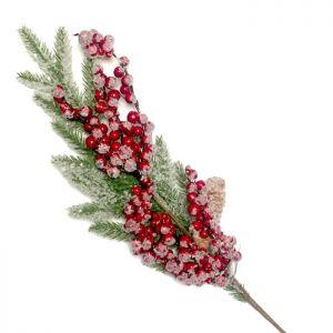 christmas berries stem decoration